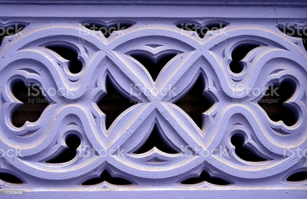 indigo symmetry royalty-free stock photo