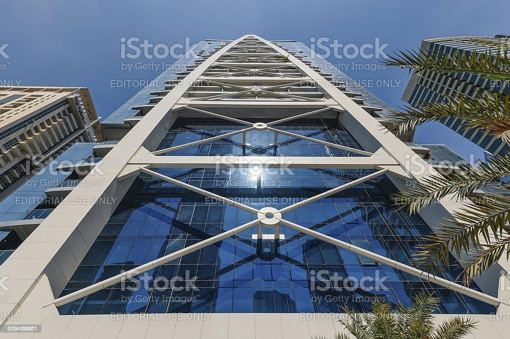 Indigo Tower. stock photo