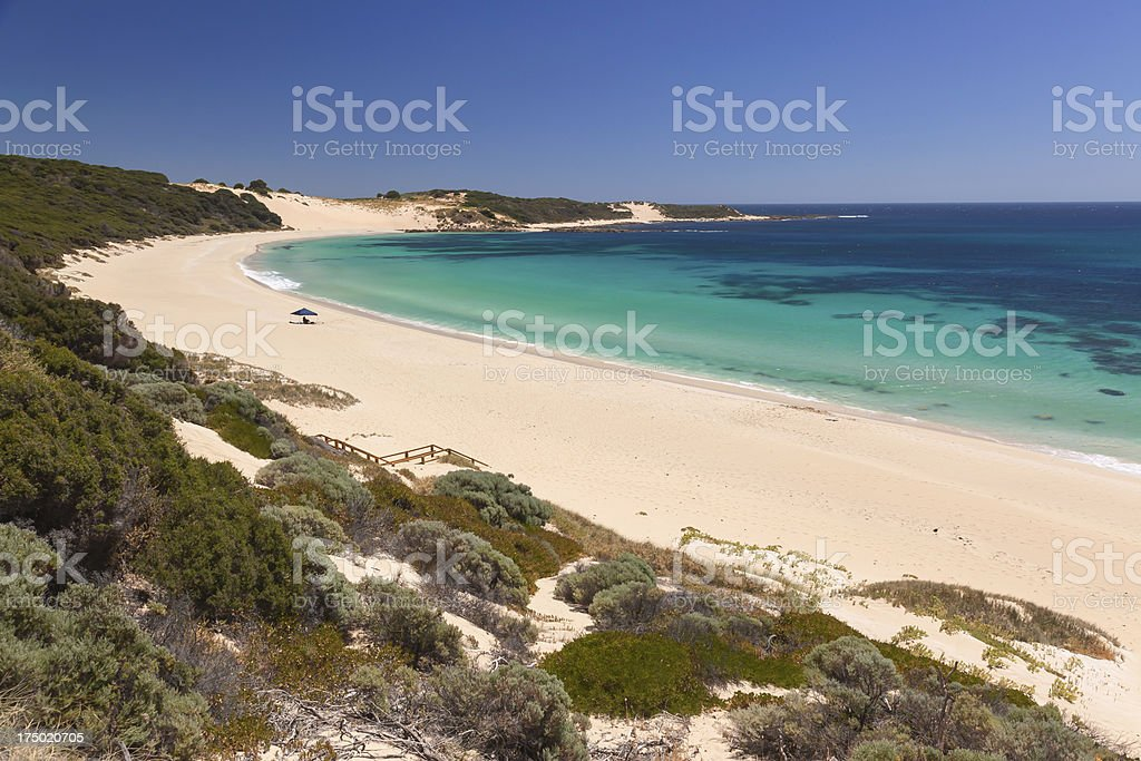 Indijup Beach stock photo