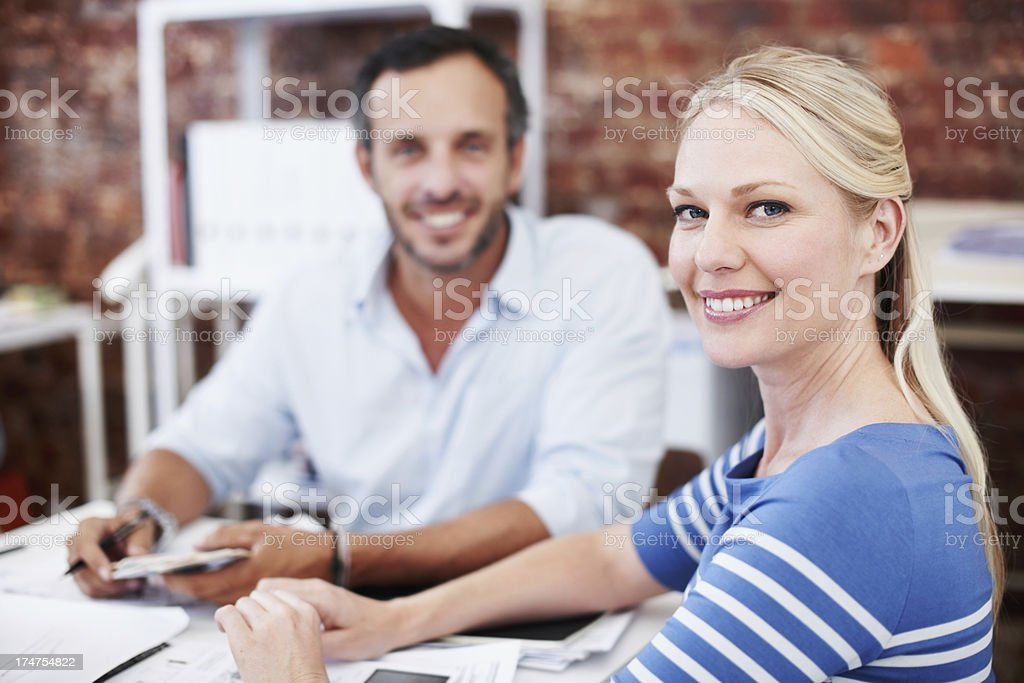 Indispensible member of the design team royalty-free stock photo