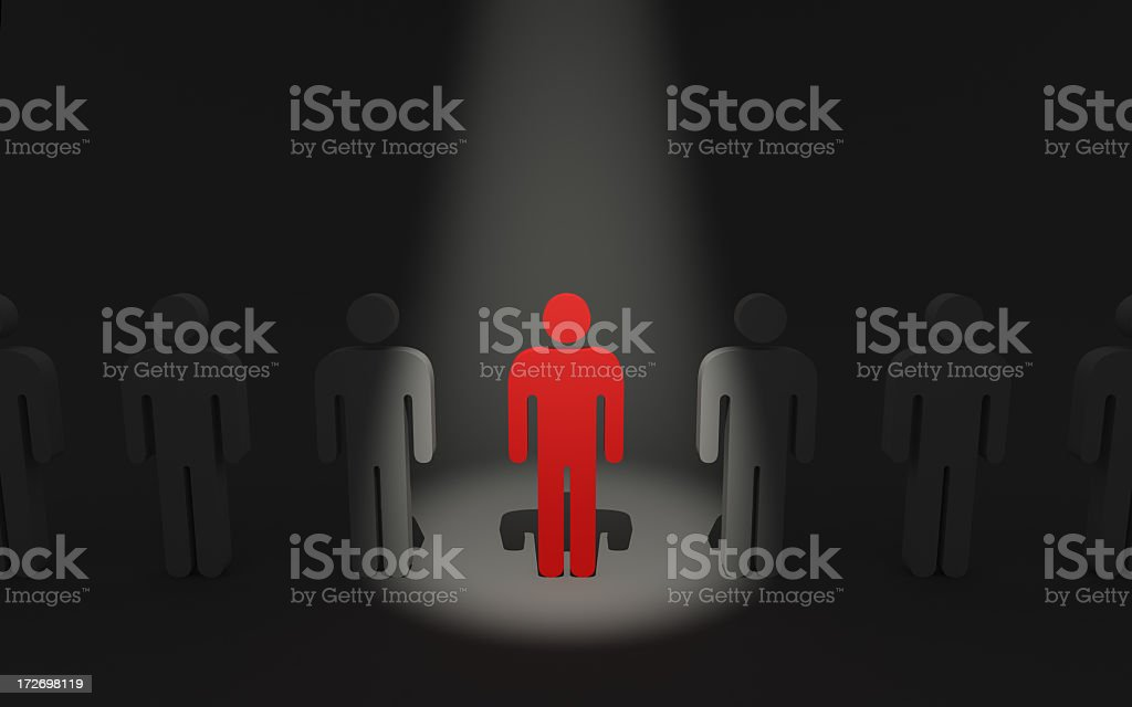 Individuality Concepts stock photo