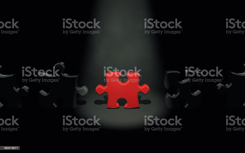 Individuality Concepts royalty-free stock photo