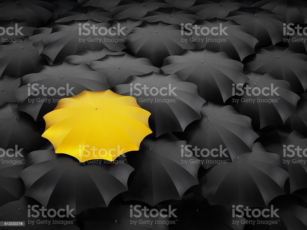 individuality stock photo