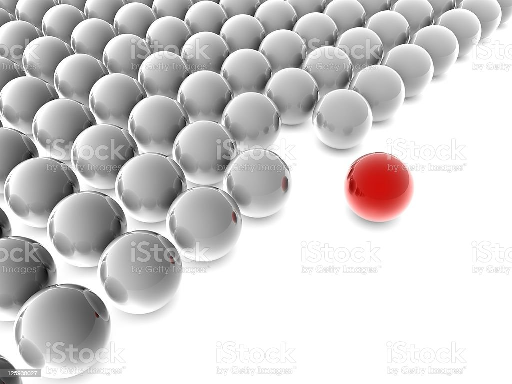 individuality sphere royalty-free stock photo