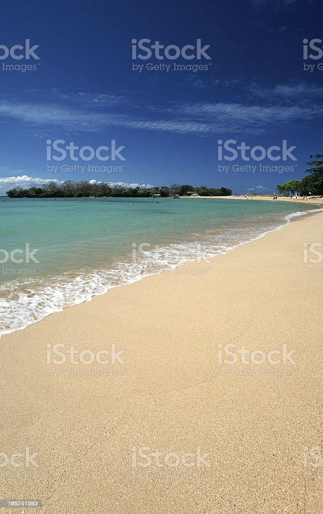 Indonesia, Bali, Nusa Dua. stock photo