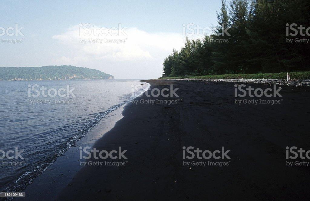 Indonesia, Banten Province, Pulau Krakatoa. stock photo
