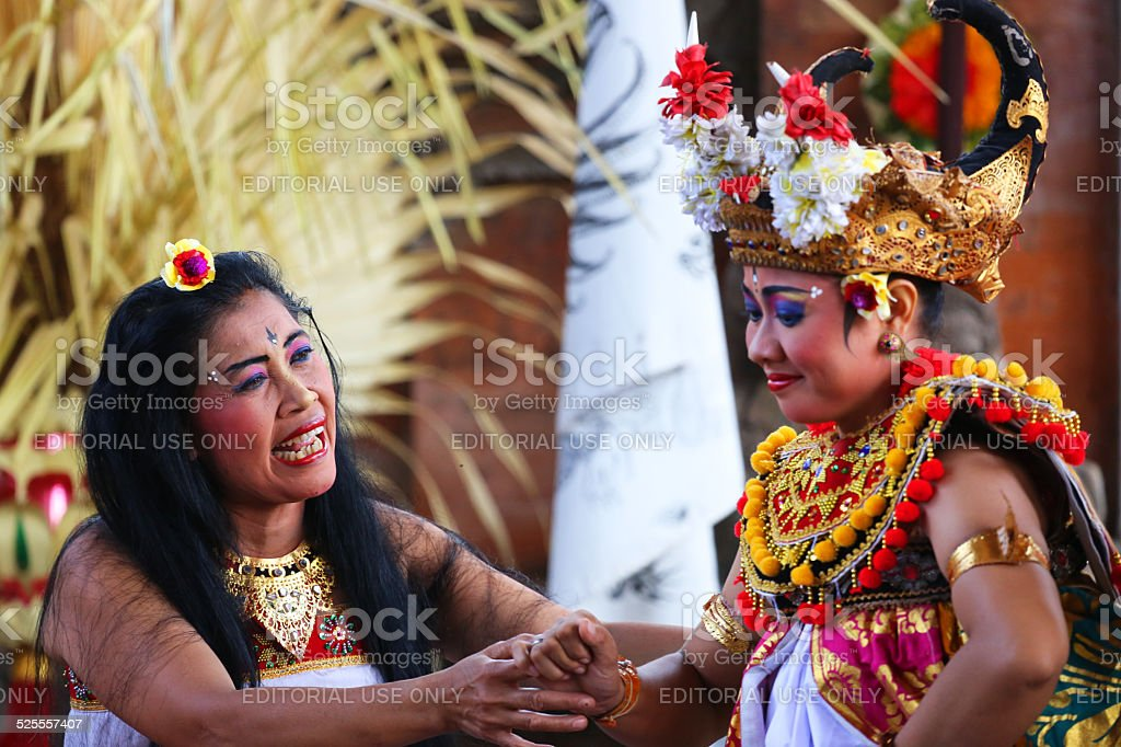 Indonesia: Barong Ceremony in Bali stock photo