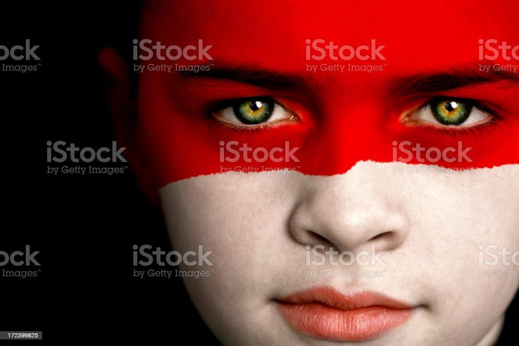 Indonesia boy stock photo