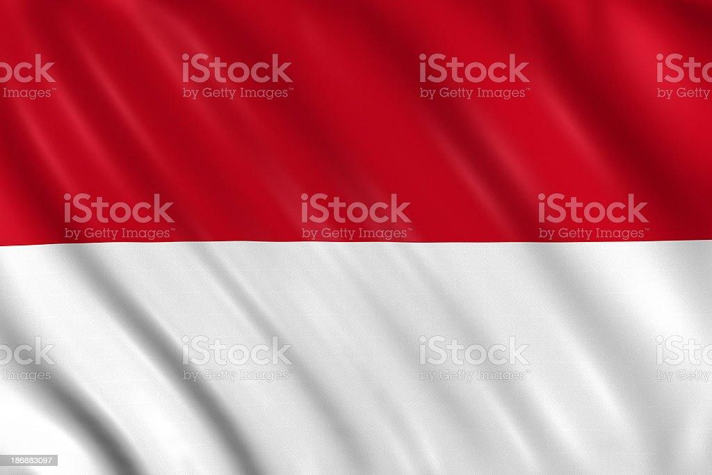 indonesia, monaco, hesse flag stock photo