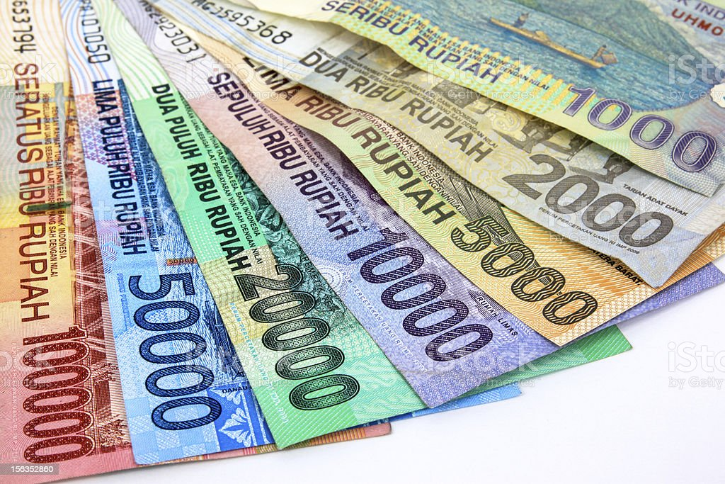 Indonesia Money stock photo
