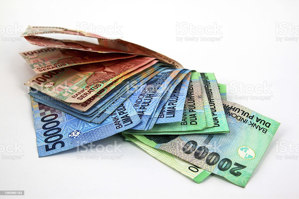 Indonesia Money royalty-free stock photo