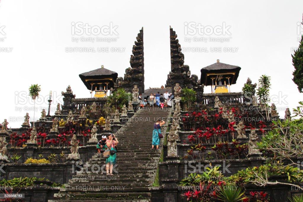 Indonesia: Pura Besakih Temple in Bali stock photo