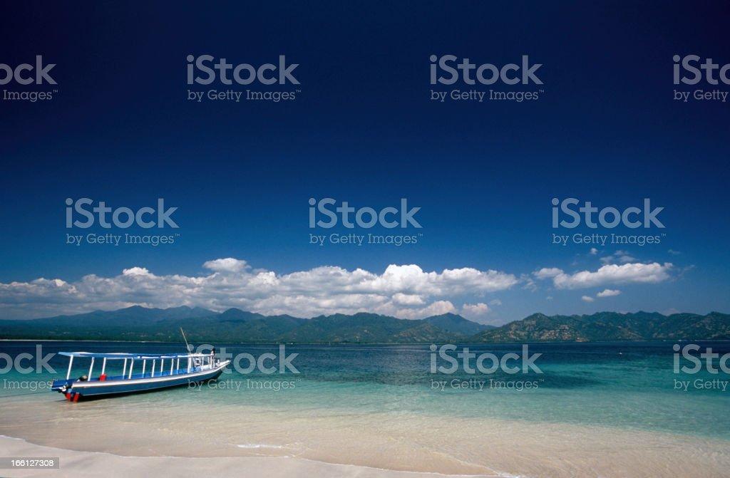 Indonesia, West Nusa Tenggara, Lombok, Gili Trawangan. stock photo