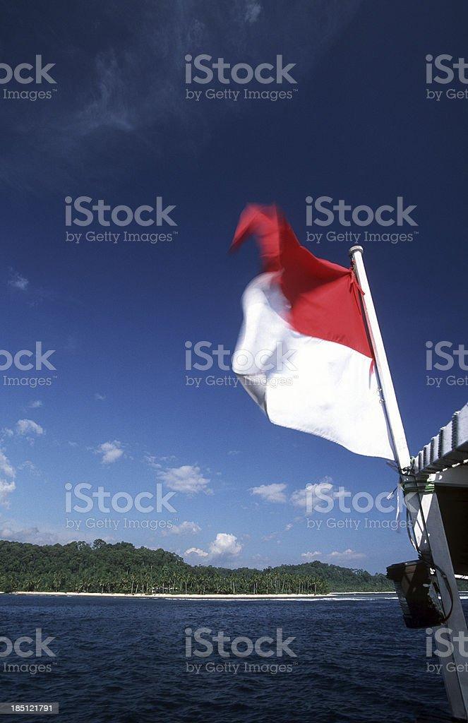 Indonesia, West Sumatra Province, Mentawai Islands. stock photo