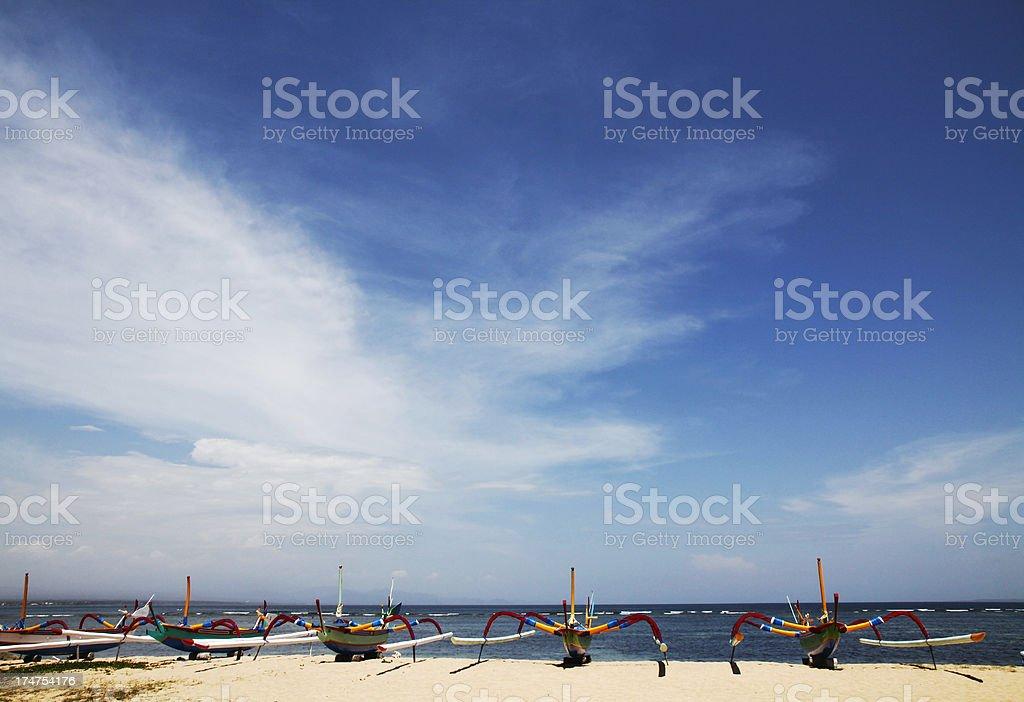 Indonesian Beach royalty-free stock photo