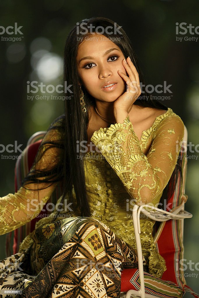 Indonesian Beauty royalty-free stock photo
