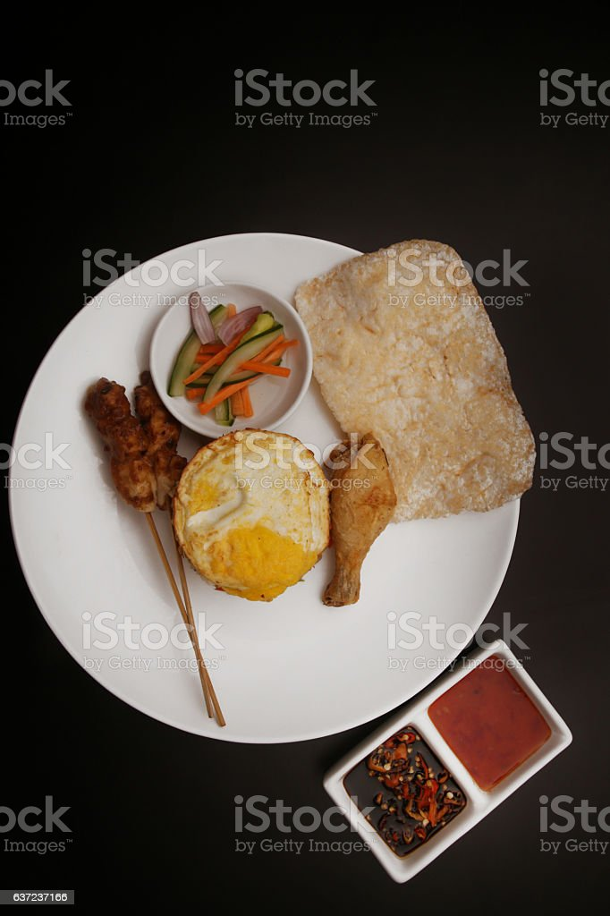 Indonesian Breakfast stock photo