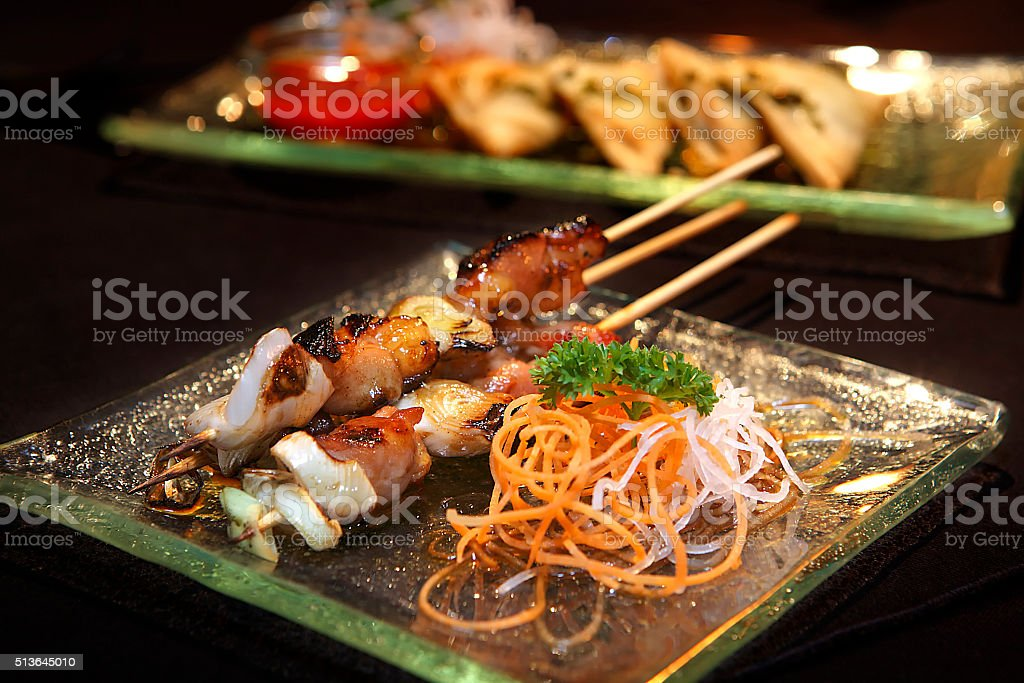 Indonesian food stock photo