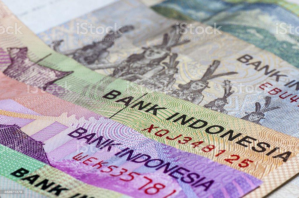 Indonesian Money stock photo