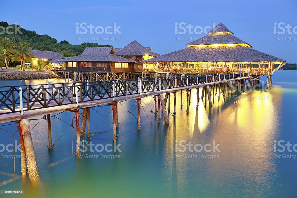 Indonesian Restaurant stock photo
