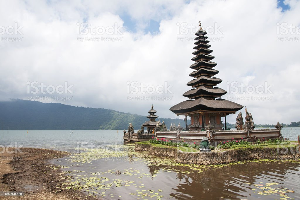 Indonesian Temple royalty-free stock photo