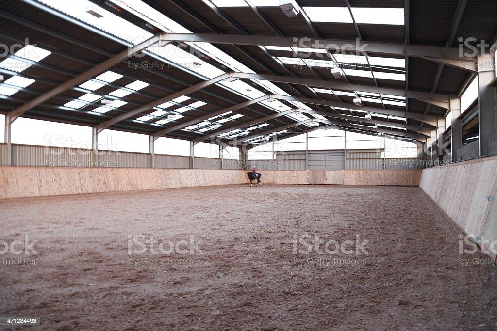 Indoor Arena stock photo