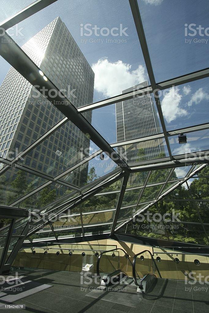 Indoor city royalty-free stock photo