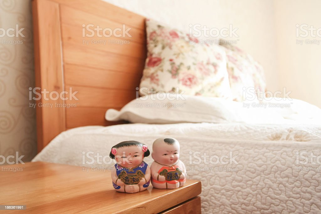 Indoor furniture and furnishings stock photo