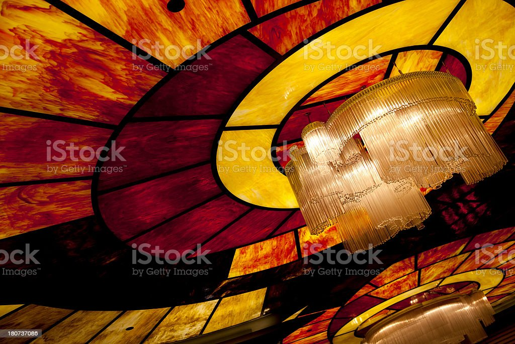 indoor lighting royalty-free stock photo