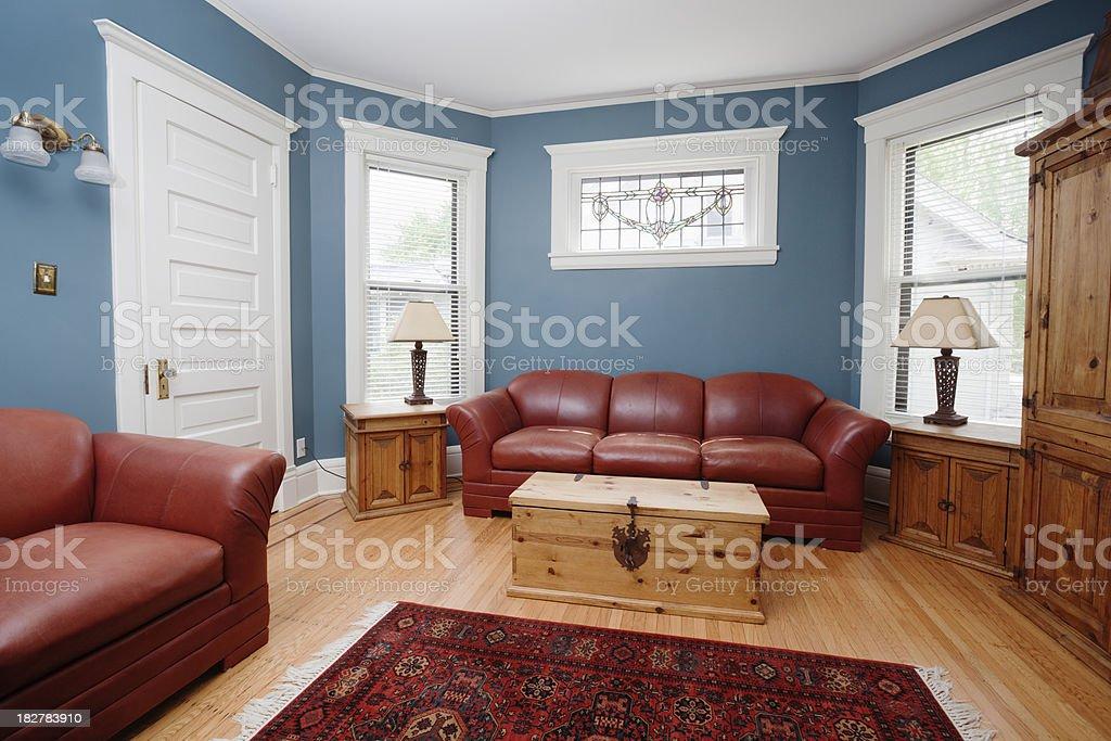 Indoor Paint Featured in Residential Indoor Home Interior Living Room stock photo