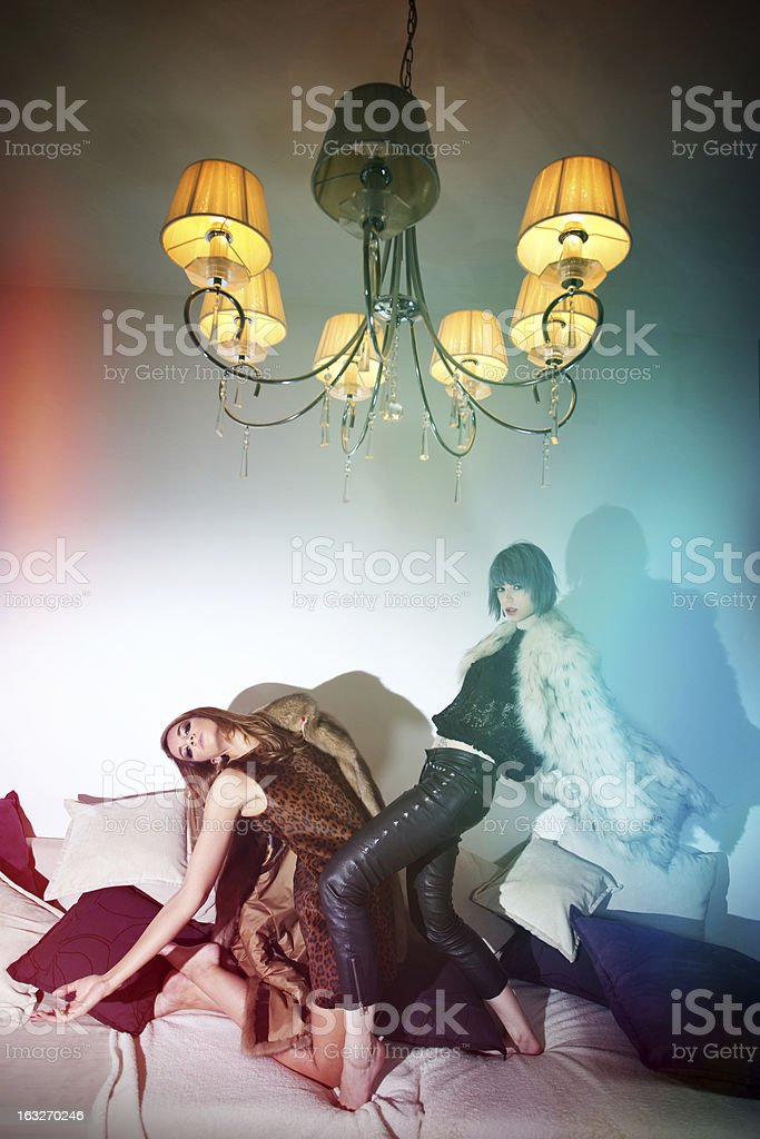 indoor party royalty-free stock photo