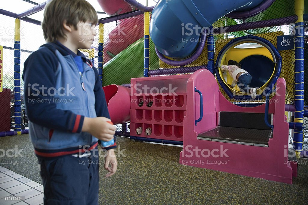 Indoor Playground royalty-free stock photo