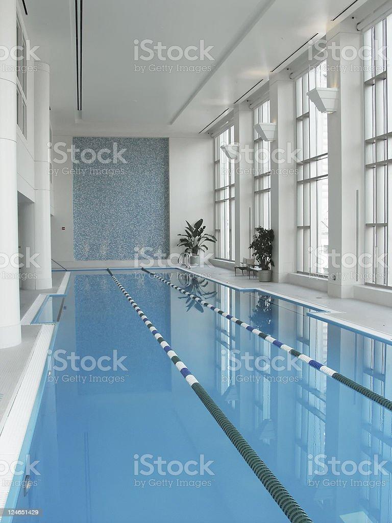 Indoor Pool royalty-free stock photo