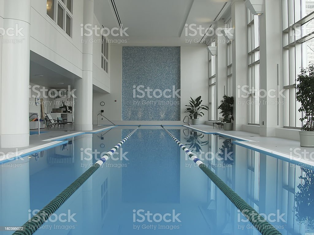 Indoor Pool royalty-free stock photo