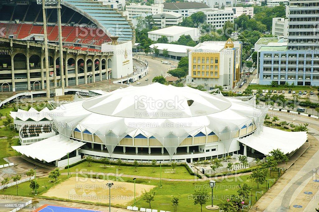 Indoor stadium Hua-Mak stock photo
