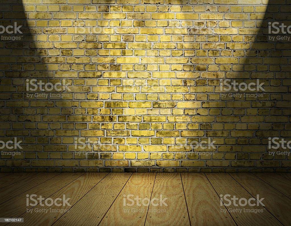 indoor stage background stock photo