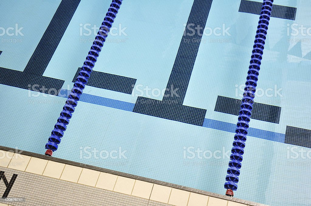 Indoor Swimming Pool stock photo