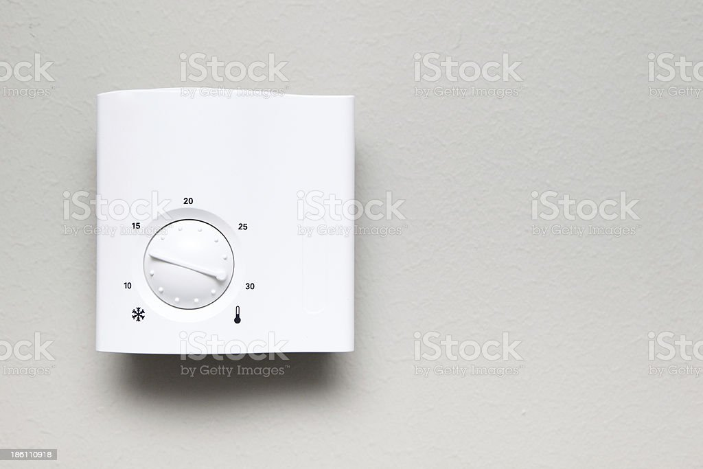 indoor thermostat royalty-free stock photo