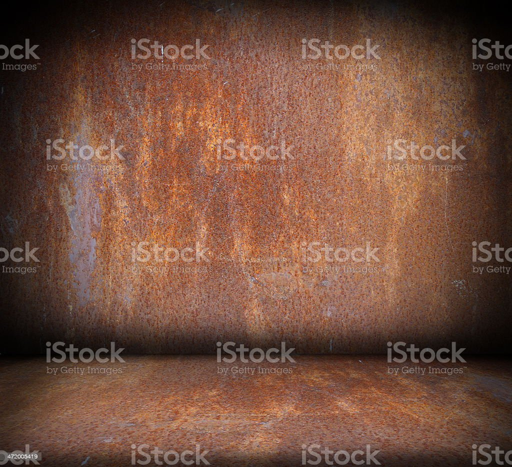 indoor wooden structure forming backdrop for your design stock photo