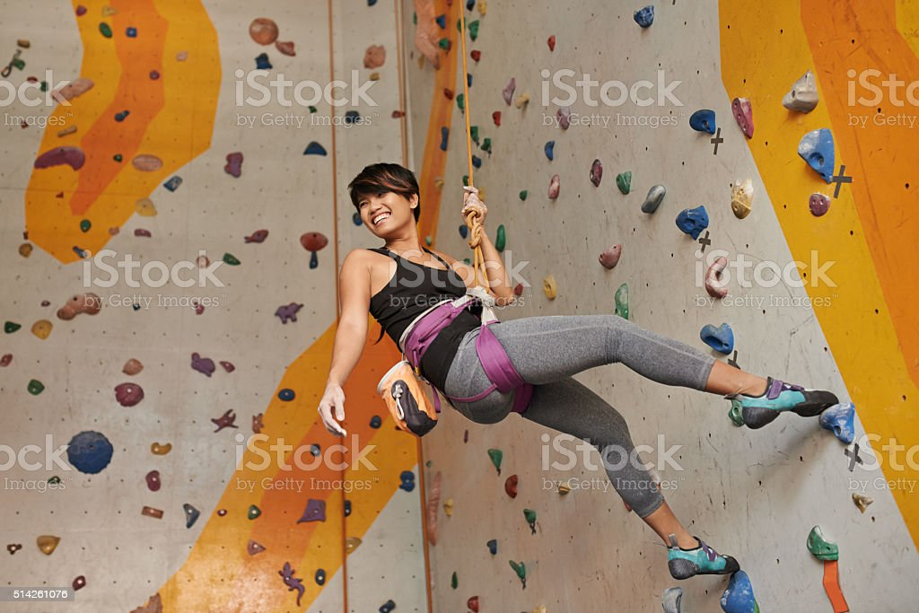 Indoors training stock photo