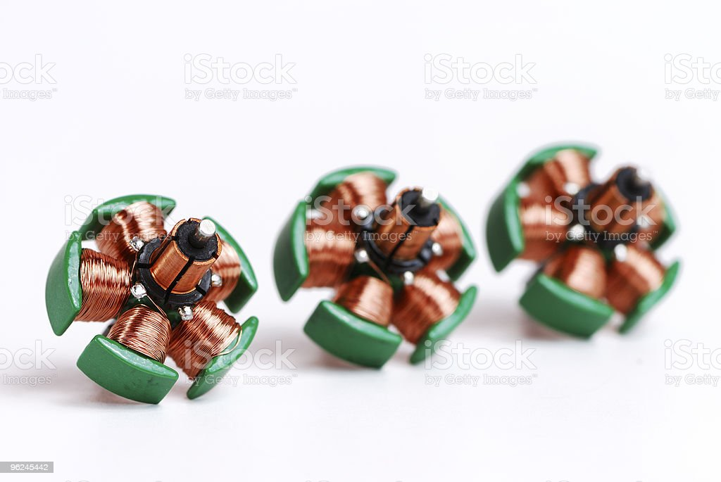 Inductors stock photo