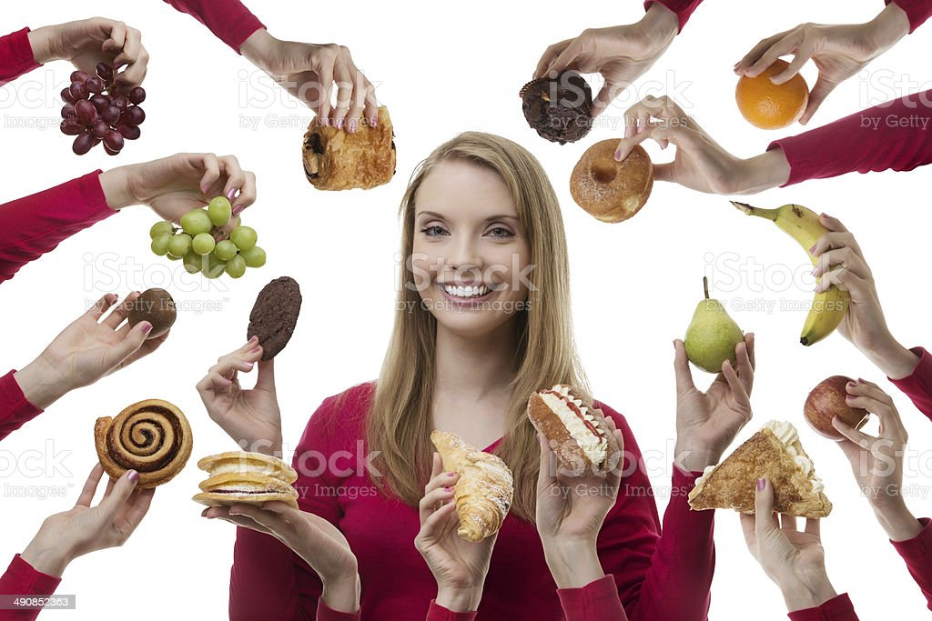 indulge yourself stock photo