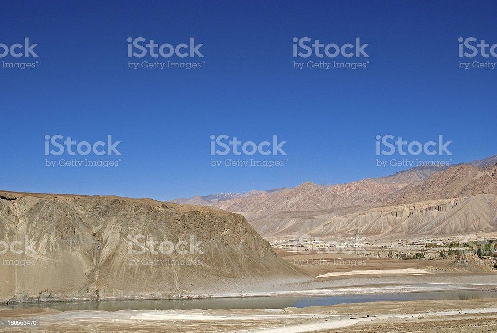 Indus River, Ladakh, India royalty-free stock photo