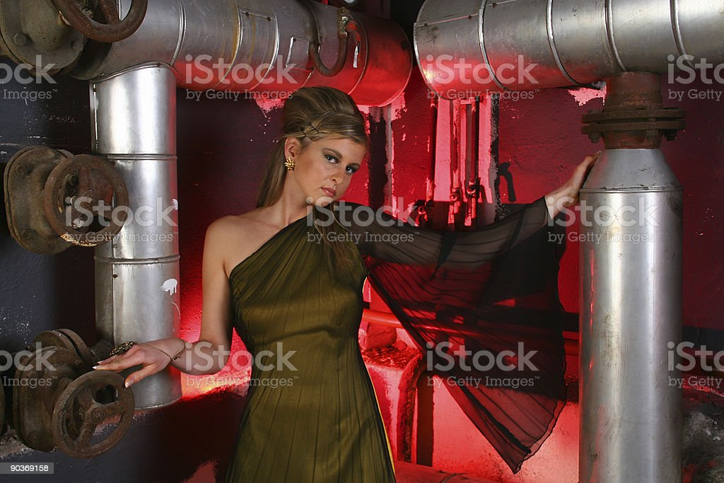 Industrial age royalty-free stock photo