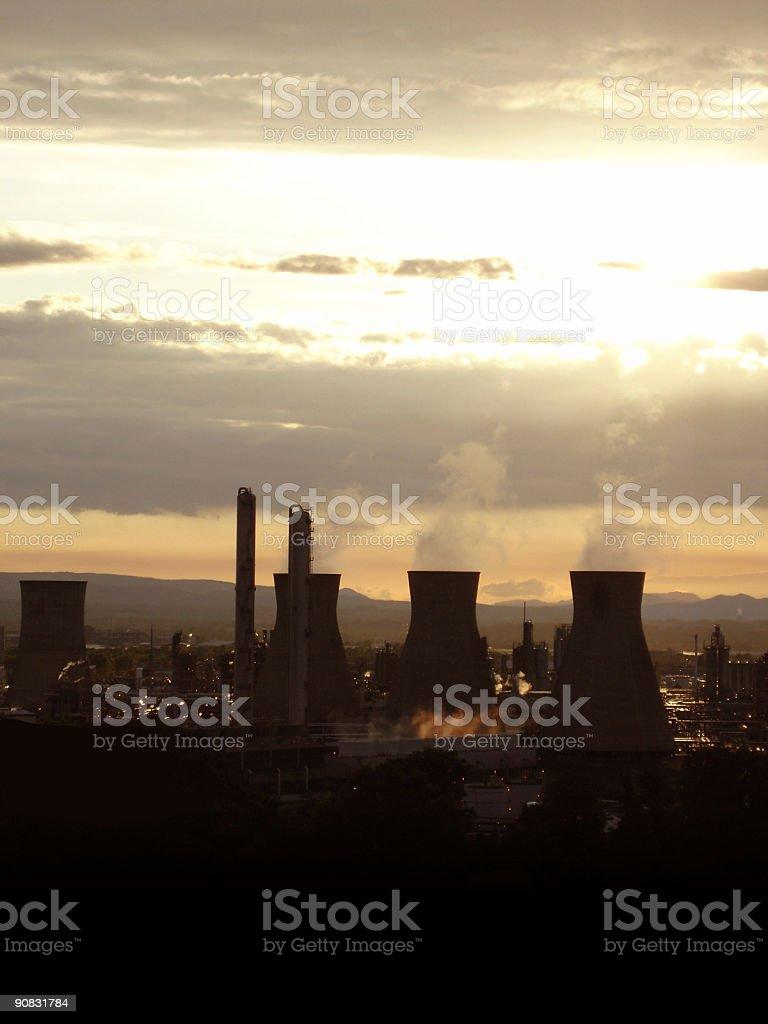 Industrial Apocalypse royalty-free stock photo