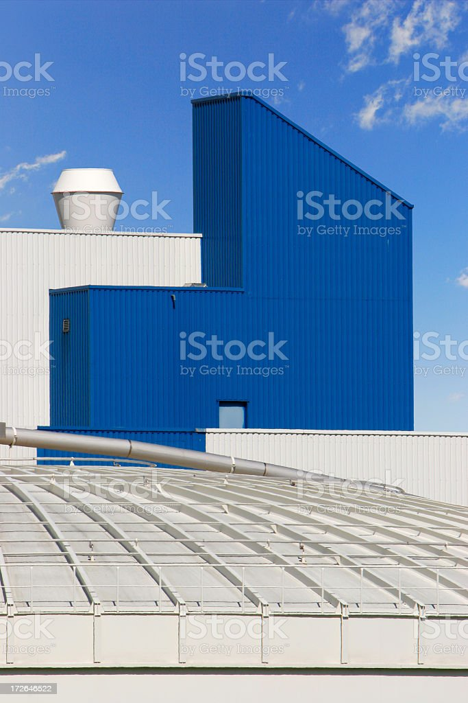 Industrial Architecture royalty-free stock photo
