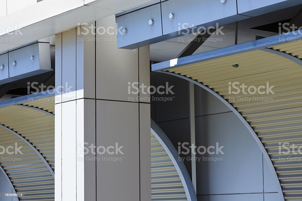 industrial archtecture royalty-free stock photo