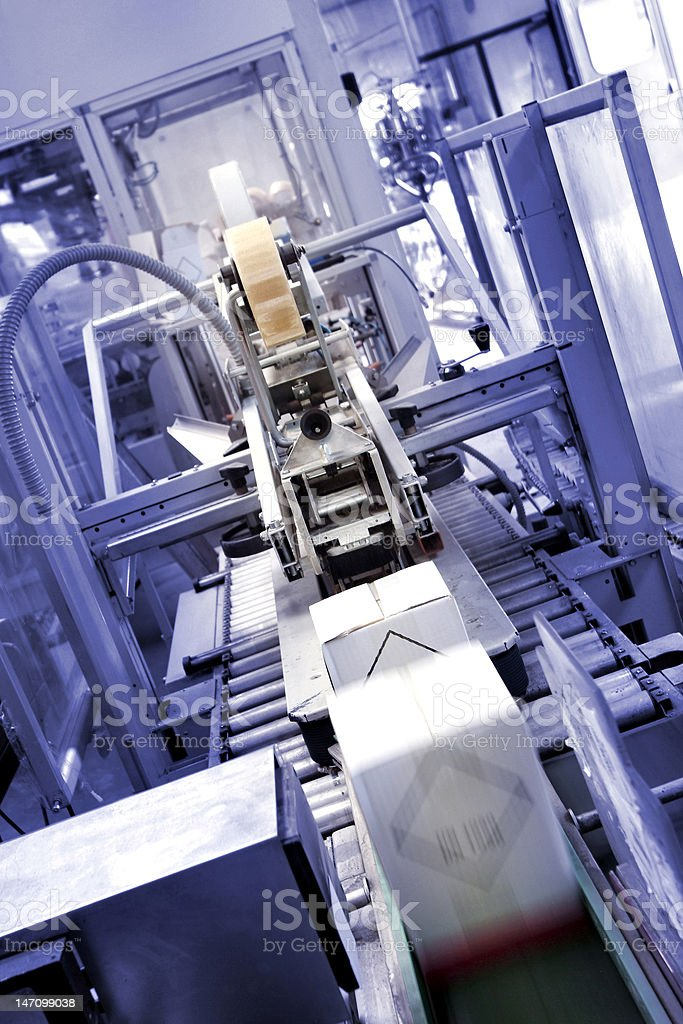 industrial automation royalty-free stock photo