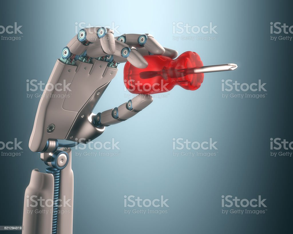 Industrial Automation stock photo