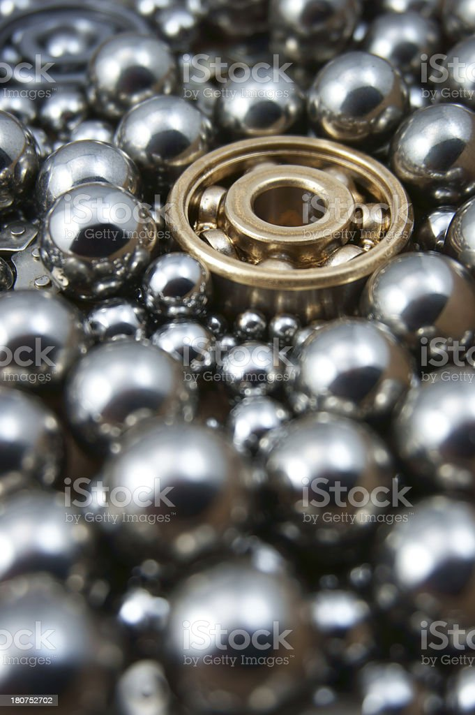 Industrial Bearings royalty-free stock photo